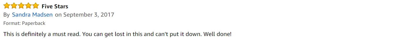 Five star Amazon review