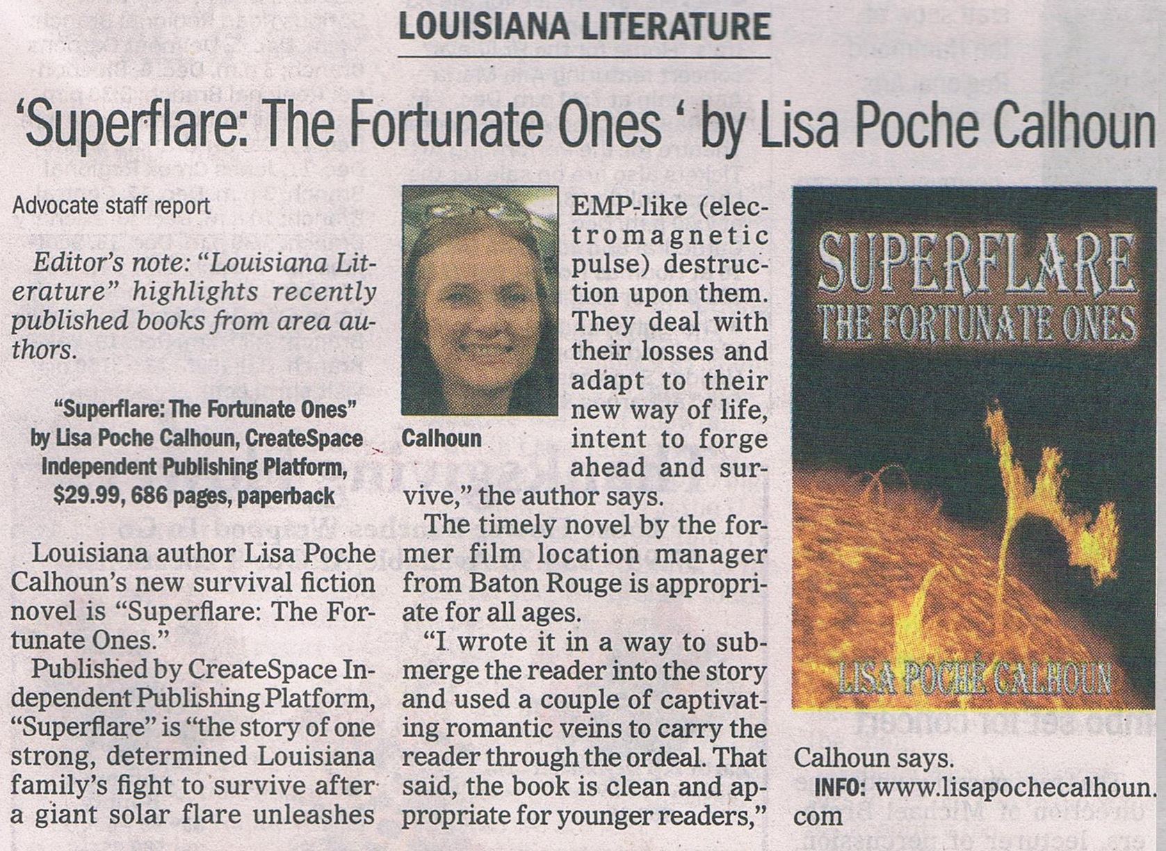 Featured Author - LA Literature - The Advocate